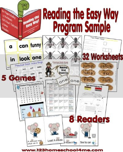 Reading the Easy Way Preschool - Program at a Glance