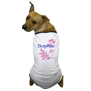 Sophie Name Dog T-Shirt