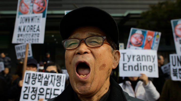 Protests against the regime of Kim Jong-un is happening in Asia