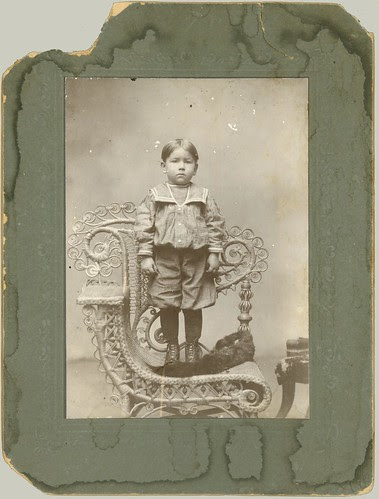 Boy and chair