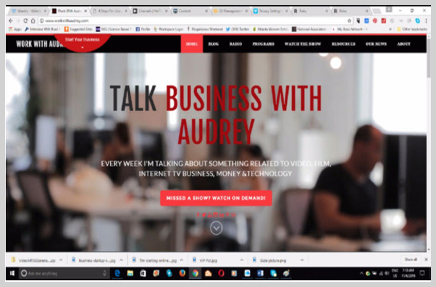 10 Must-See Small Business Roku Channels Owners and Entrepreneurs - Talk Business With Audrey
