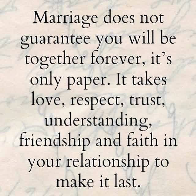 Love Trust Respect Faith Quote About Marriage Quotespicturescom