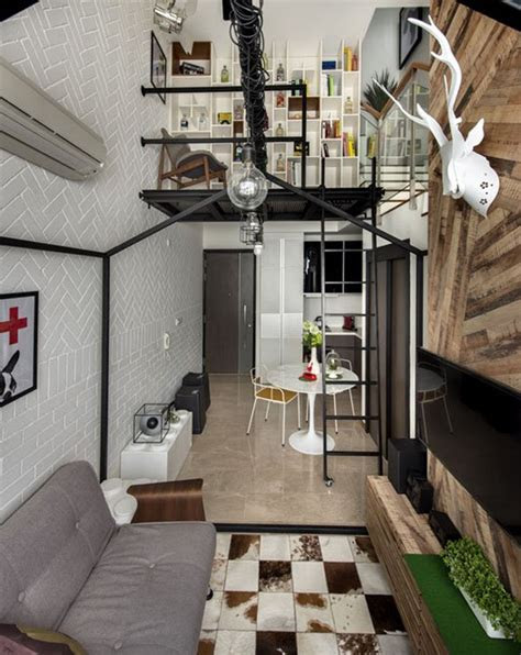 small loft house  aesthetics modern  singapore