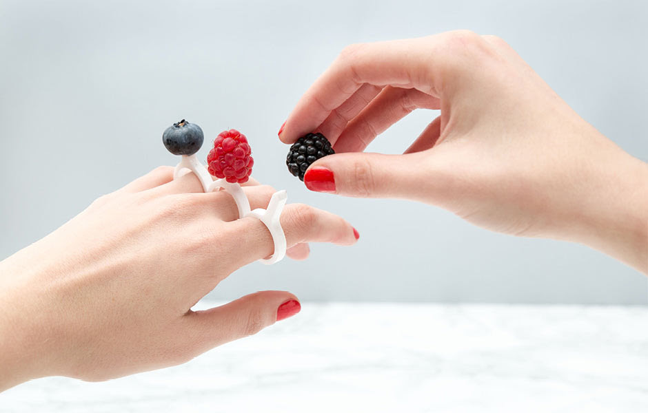 Edible designs set the new trend in jewelry -