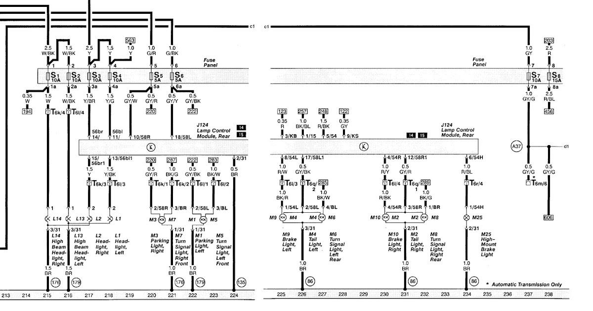 1999 Audi A6 Quattro Wiring Diagram | Audi A6 1999 Wiring Diagram |  | Audi Wiring Diagram - blogger