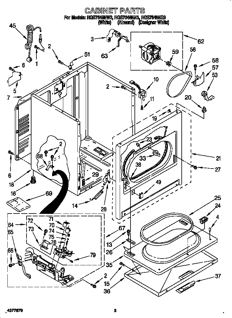 34 Roper Dryer Belt Diagram