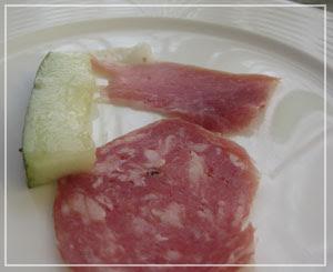 富里「Cucina Tokionese Cozima」にて、シェフからの一品♪