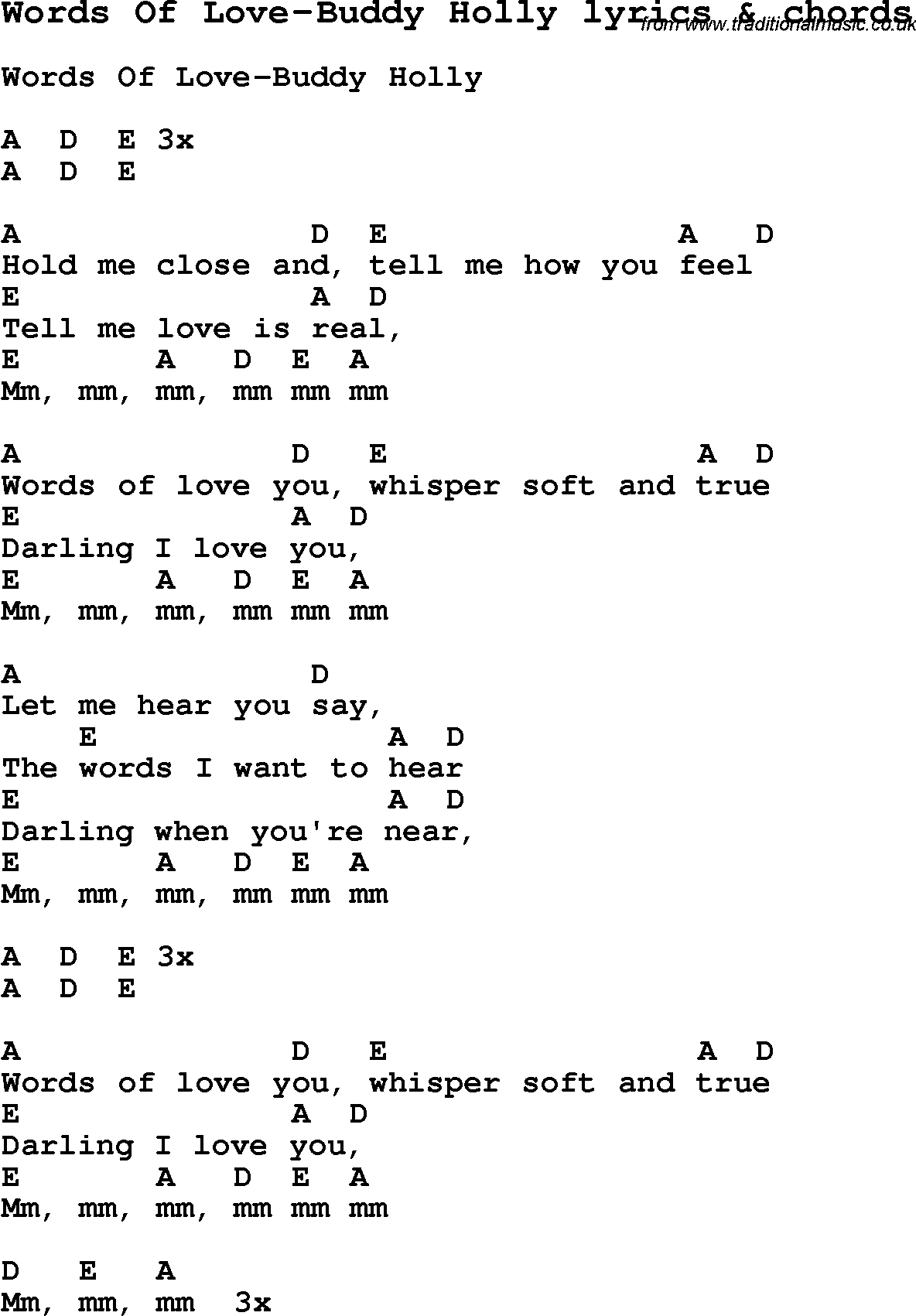 Inspirational Words Of Love Lyrics - family quotes