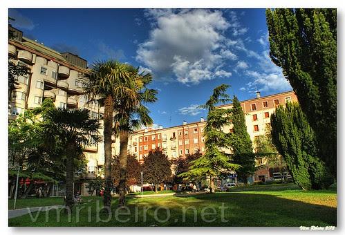 Jardim público de Vitoria by VRfoto