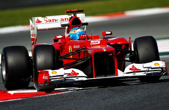 Ferrari's Fernando Alonso hopes for more improvements in Barcelona. (Getty Images)