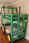 Bedroom Tractor Unique Bunk Beds He Just Built For The Boys 2014 ...