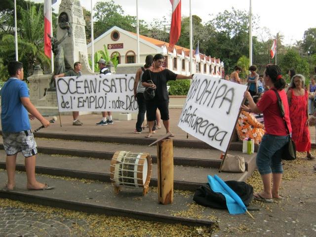 En Polynésie française, on parle d'Océanisation des cadres pour défendre l'emploi local ©Tahiti-news