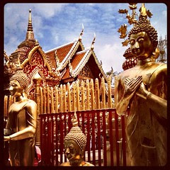 First visit to #Thai #buddhist temple.