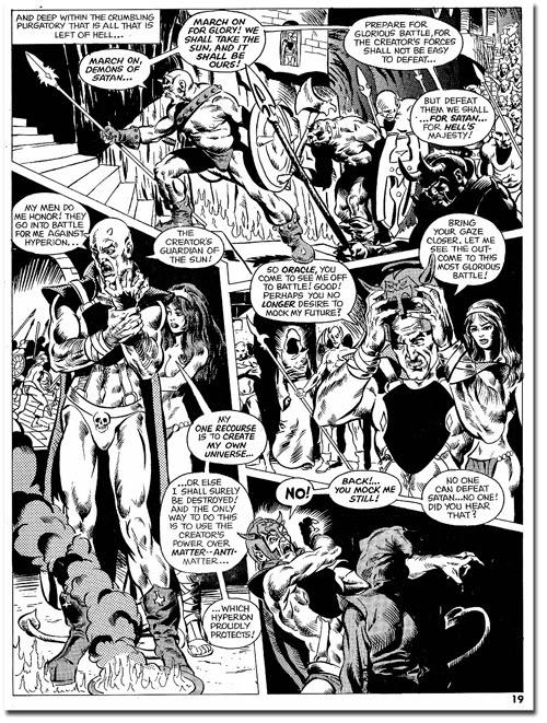 Psycho #4 - Story by Marv Wolfman