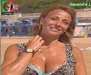 Alexandra Lencastre sensual na novela Tempo Viver