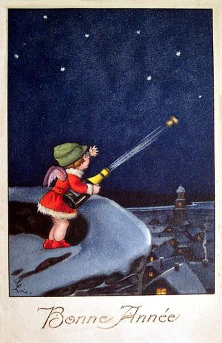 Magical New Years Postcard!