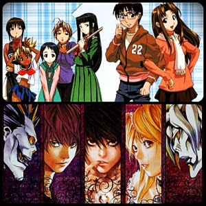 love hina e death note - visite pandatoryu