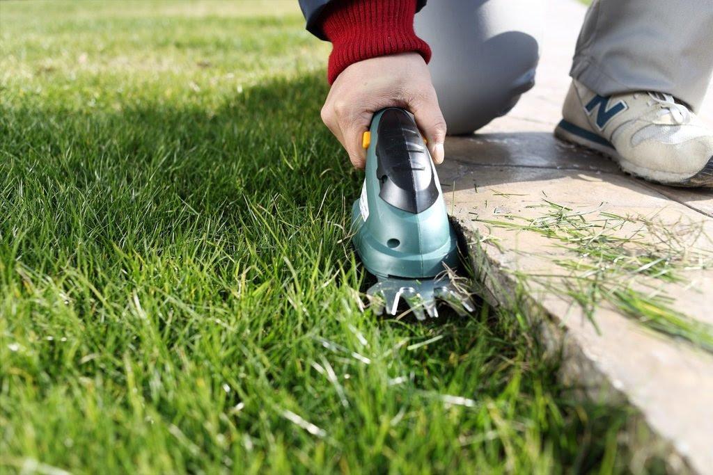 Amazon.com : MLG ET1205 3.6-Volt Lithium Cordless Compact Grass ...