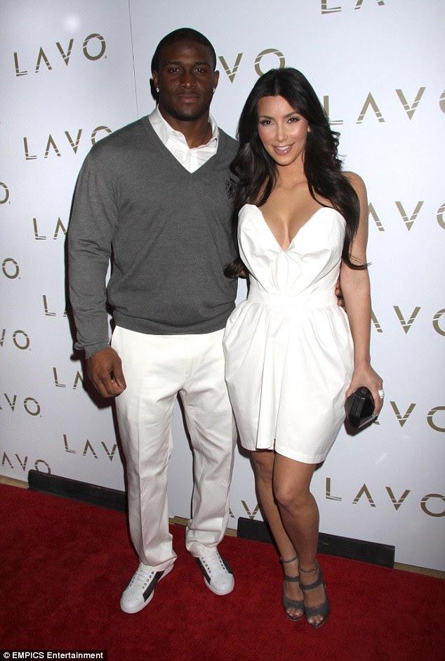 Seu amor verdadeiro?  Antes de Kris que ela estava em um relacionamento de alto nível com NFL jogador Reggie Bush.  Aqui eles são vistos em 2010