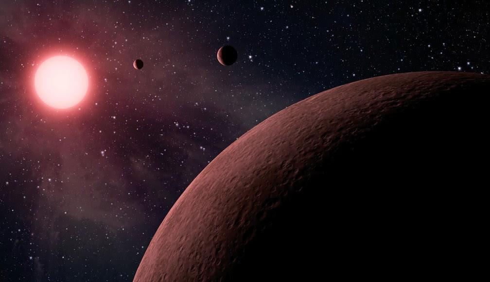 Telescópio espacial Kepler, da Nasa, identificou 219 novos candidatos a planeta, 10 dos quais têm tamanhos parecidos com o da Terra  (Foto: NASA/JPL-Caltech)