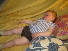 Sofia sleeps by Teckelcar