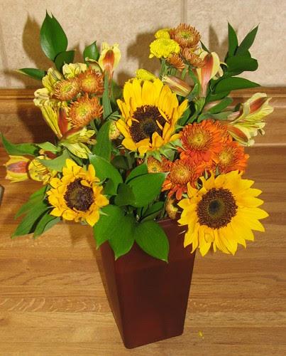 Mom's Sunflowers 002