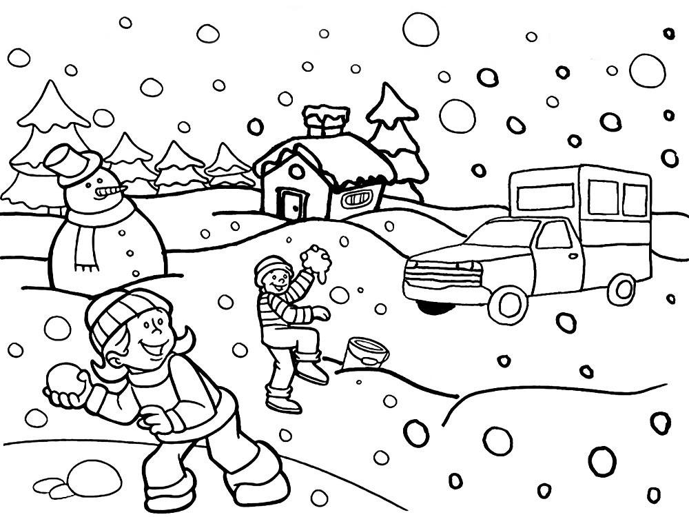 Dibujos Para Colorear Navidad Para Ninos