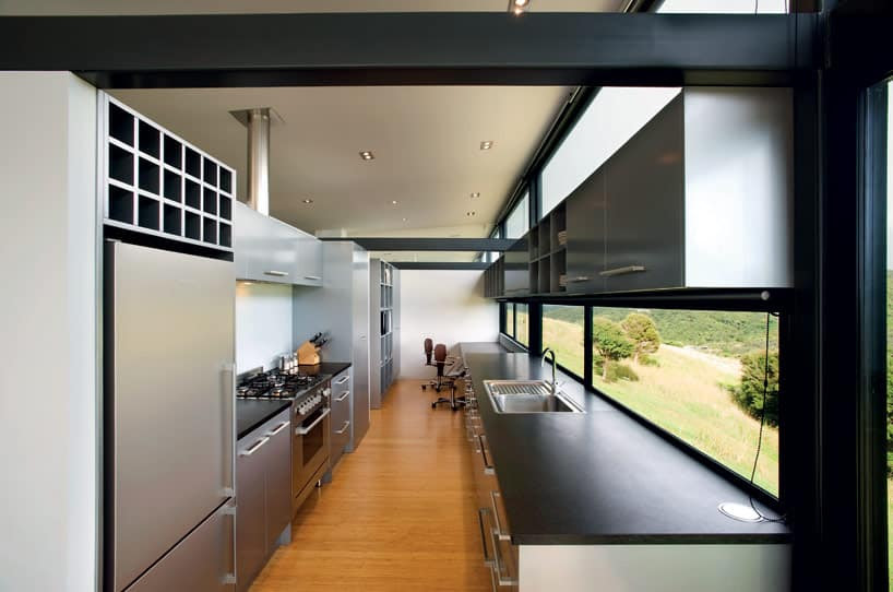 TrussStyle New Zealand Glass House With Complex Interior - ContemporaryInteriorDesignNewZealand07 « Adelto Adelto