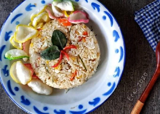 Resep Nasi Goreng Daun Jeruk Yang Enak