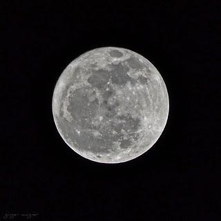 'Snow moon' - 2.7.12