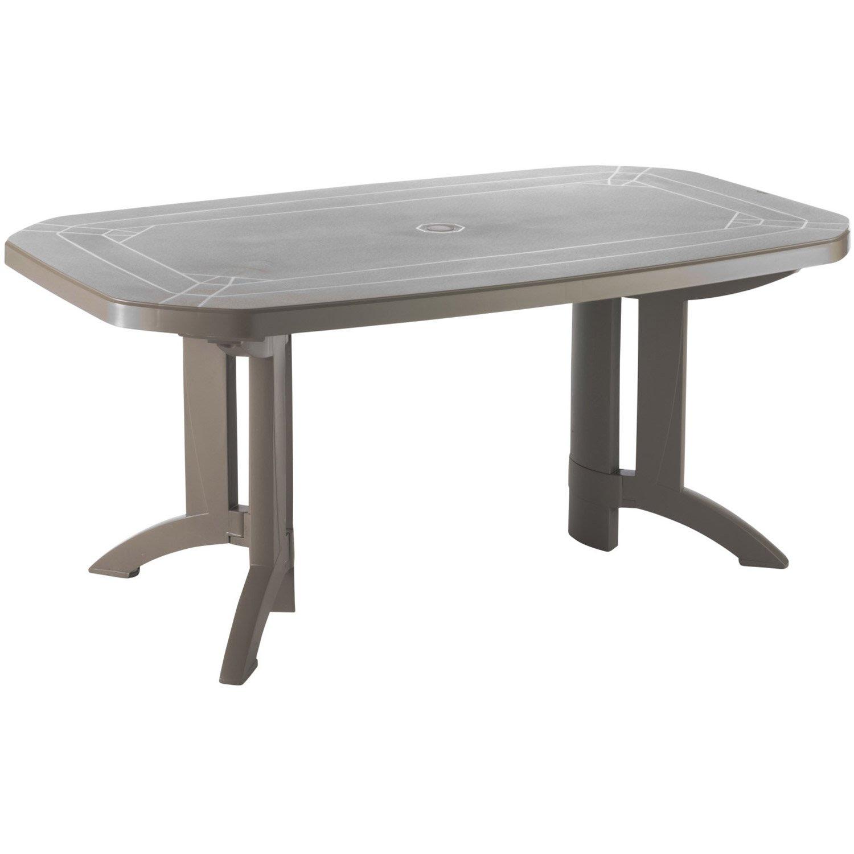 Table De Jardin Pvc 6 Personnes