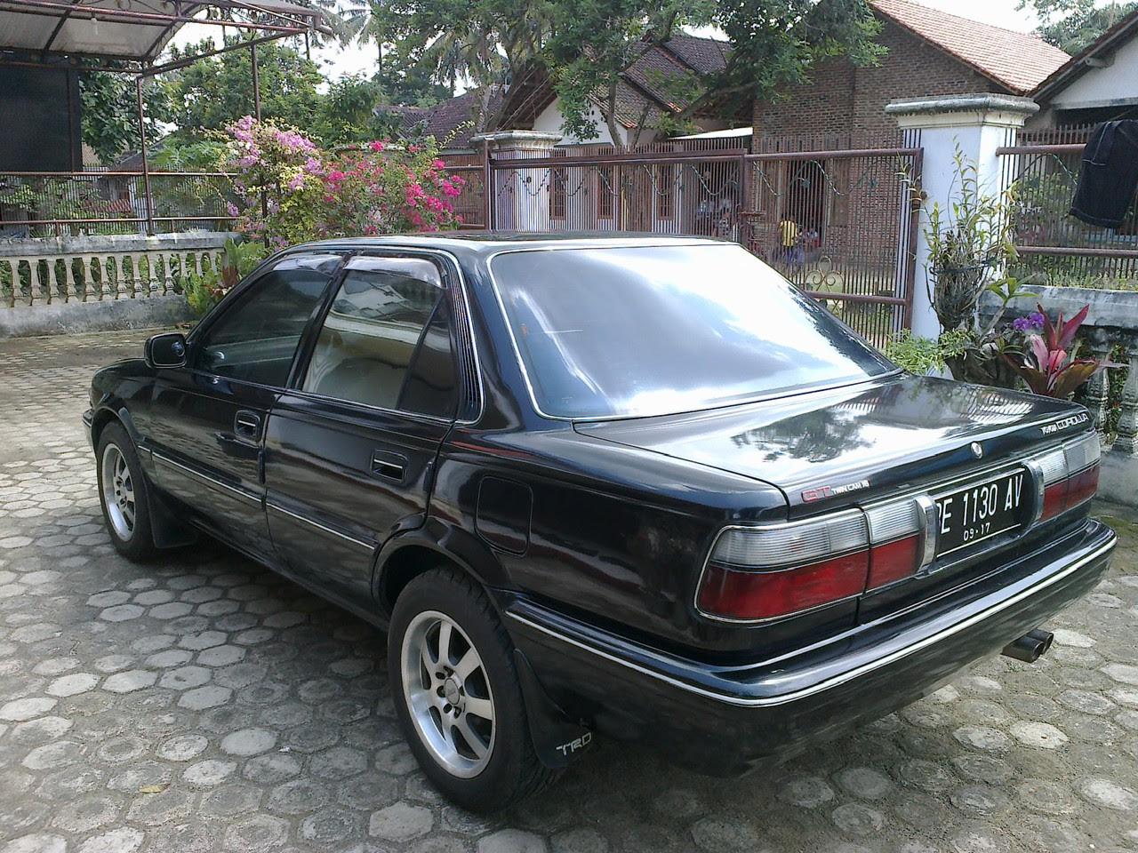 Bekas Corolla Twincam GTi Tahun 1991 Lampung