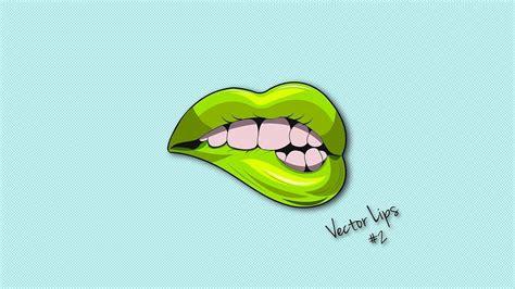 illustrator tutorial lips logo design vector adobe
