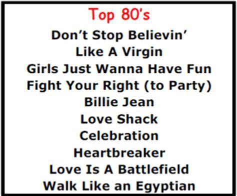 Top Karaoke Songs   1980's Best Karaoke Songs   Wedding