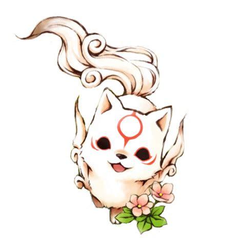 chibi okami amaterasu icon  kurotsukidcdeviantartcom