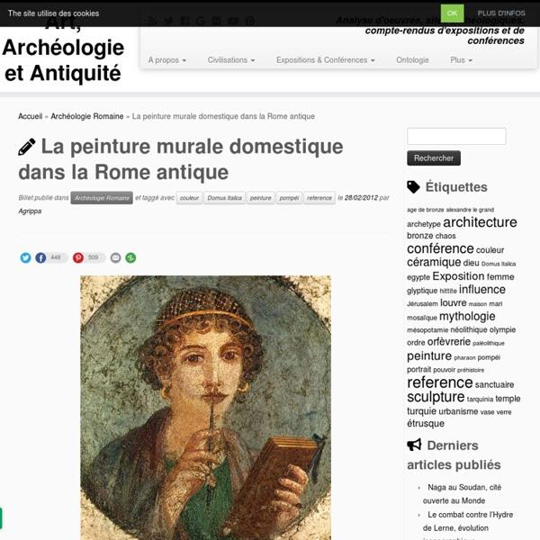 La Peinture Murale Domestique Dans La Rome Antique Pearltrees