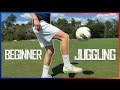 How To Juggle A Football For Beginners