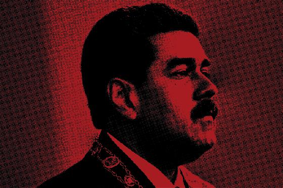 FRAUDE O presidente da Venezuela, Nicolás Maduro. Seu governo é acusado de ter inflado o número de eleitores que votaram em apoio à Constituinte (Foto: Marco Bello/Reuters)