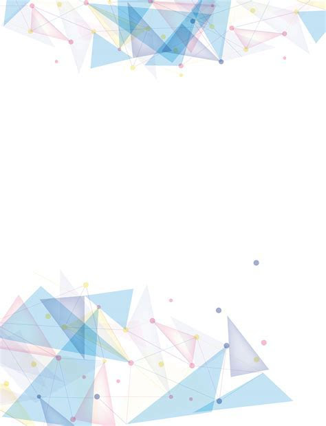 Small Fresh Colorful Vector Geometric Background Debris