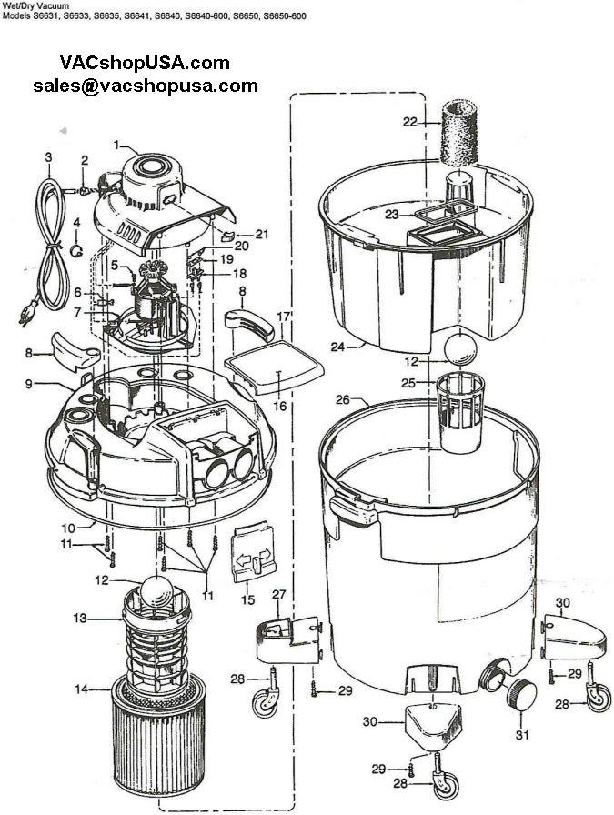 Wiring Diagram  35 Shop Vac Switch Wiring Diagram