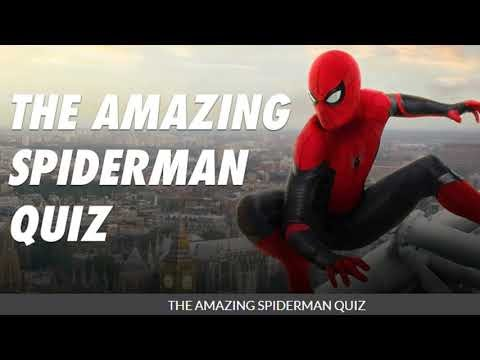 The amazing spider man quiz answers For you