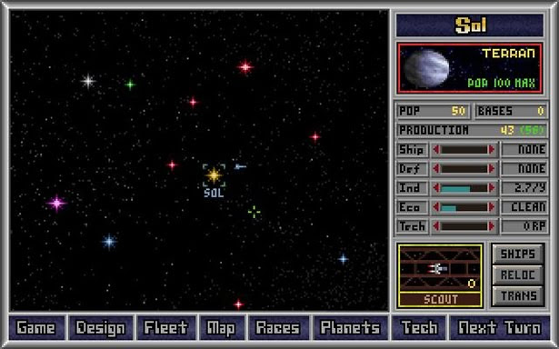Master of Orion 1993