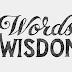 Words of Wisdom Shine Like A Diamond