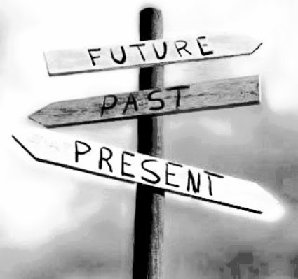 Essa mania de viver sempre no passado ou no futuro, mas raramente no presente