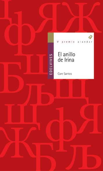 portada del libro El anillo de Irina, de Care Santos