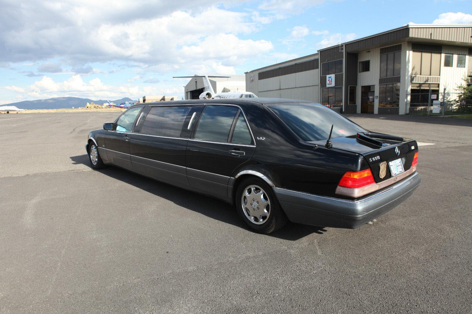 1995 Mercedes Benz S600 V12 Limousine for sale