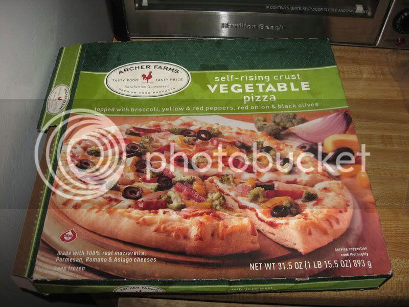 Target Frozen Vegetable Pizza