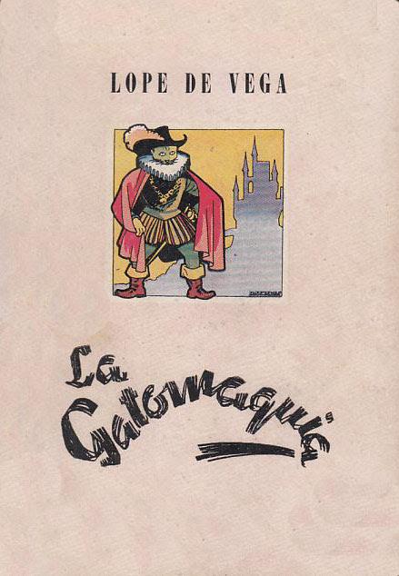 LIBRO LA GATOMAQUIA (FÉLIX LOPE DE VEGA CARPIO)