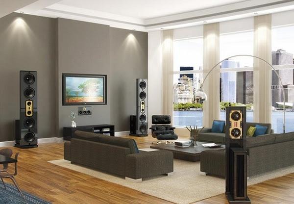 Outstanding gray living room designs - modern interior ...