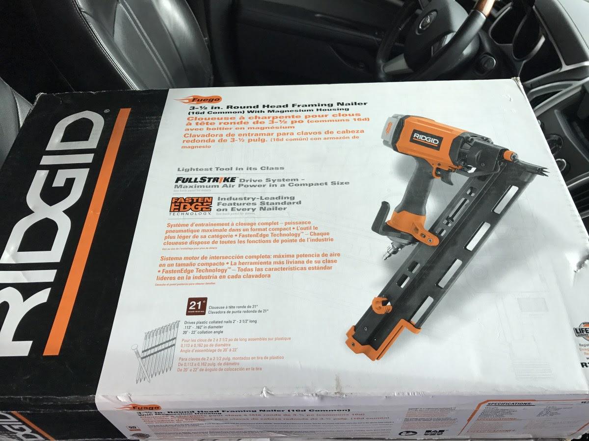 Ridgid R350rhe 35 Round Head Framing Gun Brand New For Sale